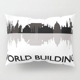 world skyline Pillow Sham