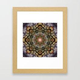 Mandalas from the Voice of Eternity 8 Framed Art Print