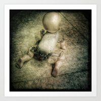 doll Art Prints featuring Doll by Jean-François Dupuis