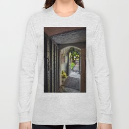 St Gwyddelan Church Long Sleeve T-shirt