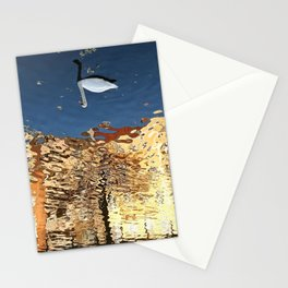 Reflector Swan III - Inverse Stationery Cards