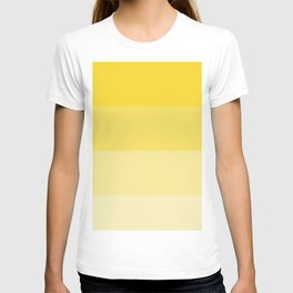 Sunshine Orange-Yellow Ombre Coloured T-shirt