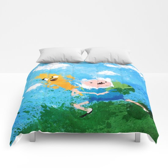 Battle Bros! Comforters