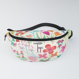 The Odd Floral Garden I Fanny Pack
