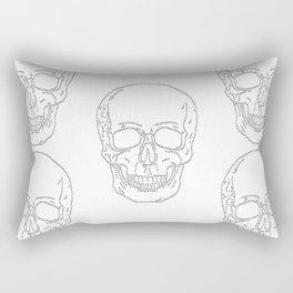Skull and Crosses Rectangular Pillow