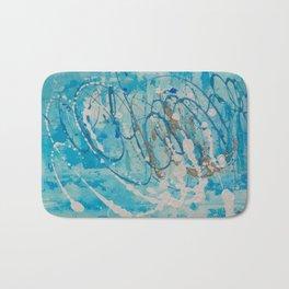 Silver Tide Bath Mat