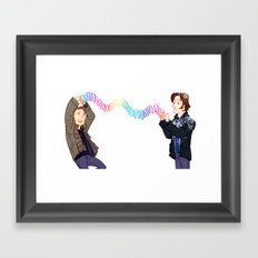 We Earned It Framed Art Print