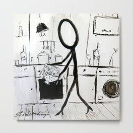 Spaghetti Straps Metal Print