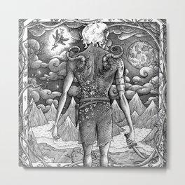 Peter Pan Metal Print
