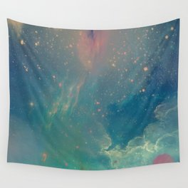 Space fall Wall Tapestry