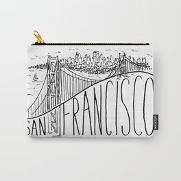 San Francisco Golden Gate Swoop Carry-All Pouch