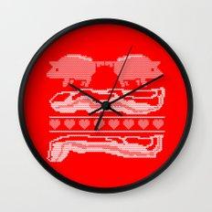 season's eatings. Wall Clock