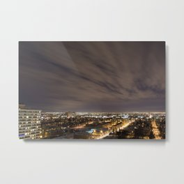 City Nights. Metal Print