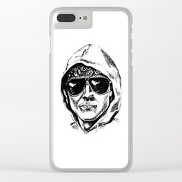 Unabomber Clear iPhone Case