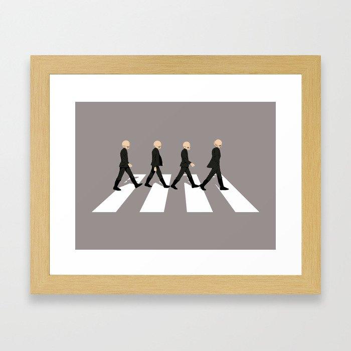 Cantina Road Framed Art Print