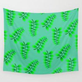 Sponged Foliage Pattern. Wall Tapestry