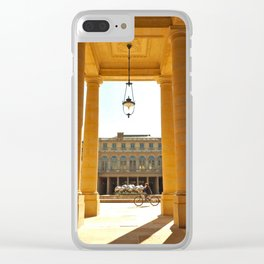 Le Palais-Royal Clear iPhone Case