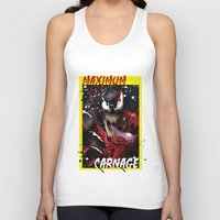carnage Tank Tops featuring Maximum Carnage by JHC Studio