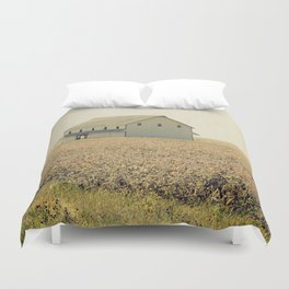 Lost in the prairie Duvet Cover