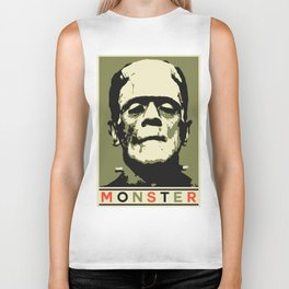 Monster (Boris Karloff) Biker Tank