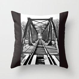 Bridge 4 Throw Pillow
