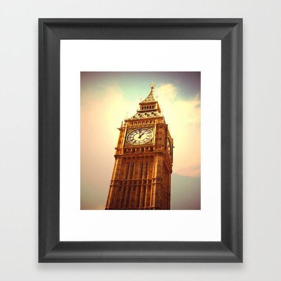 Big Ben I Framed Art Print