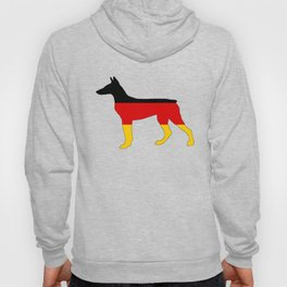 German Flag - Dobermann Pinscher Hoody