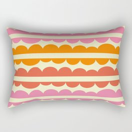 Mordidas Sixties Rectangular Pillow