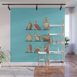 Green Sea Turtle  Yoga Wall Mural