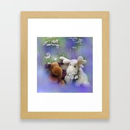 you're not alone Framed Art Print