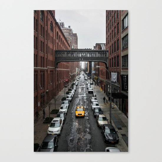 Iconic New York Taxi Canvas Print
