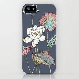 Lotus Symphony iPhone Case