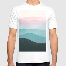 Smoky Mountain National Park Sunset Layers III - Nature Photography T-shirt