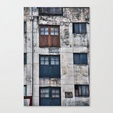 Doors Going Nowhere Canvas Print