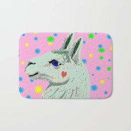 Lucky Llama Bath Mat