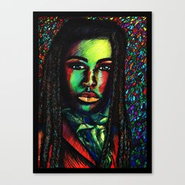 stoic beauty Canvas Print