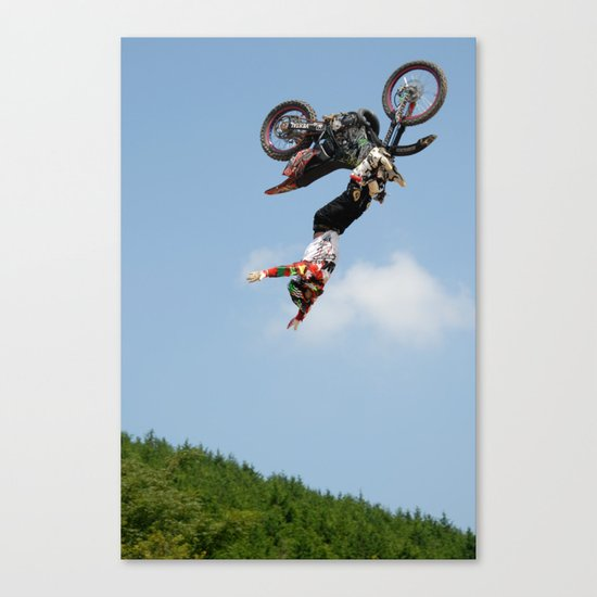 Eigo Sato Cliffhanger, FMX Japan Canvas Print