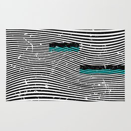 Striposcopy Rug