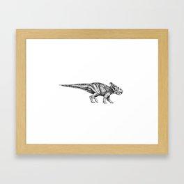 Protoceratops Framed Art Print