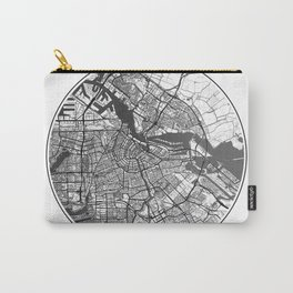 Amsterdam Map Universe Carry-All Pouch