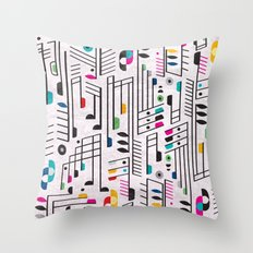 MY SONG Throw Pillow