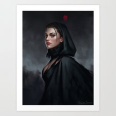 Witch Art Print