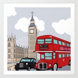 London style Art Print