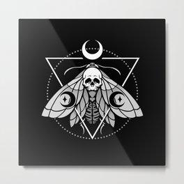 Mystic Moth Metal Print