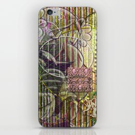 A Strict Code for Mourning Flowers (2) iPhone Skin