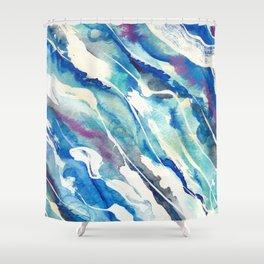 Koule Dlo (Water Flow in Haitian Creole) Shower Curtain
