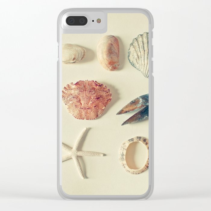 From the Sea Clear iPhone Case