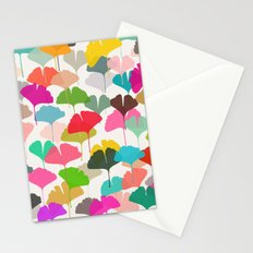 ginkgo 3 Stationery Cards
