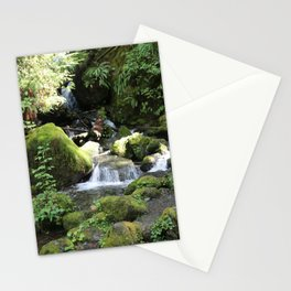 Moss Rocks in the Rainforest Stationery Cards