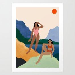 Vacation Dreaming Art Print